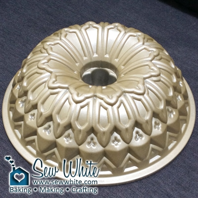 Sew White Stained Glass Nordic Ware Bundt Tin 2