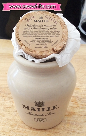 Sew White Maison Maille flavours challenge 1