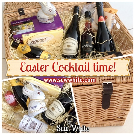 Sew White aldi cocktail drinks Easter hamper 1