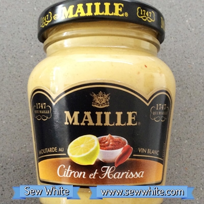 Sew White Maison Maille flavours sausage vegetable roast 1