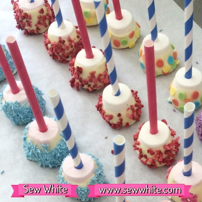 Sew White chocolate marshmallow bites 1