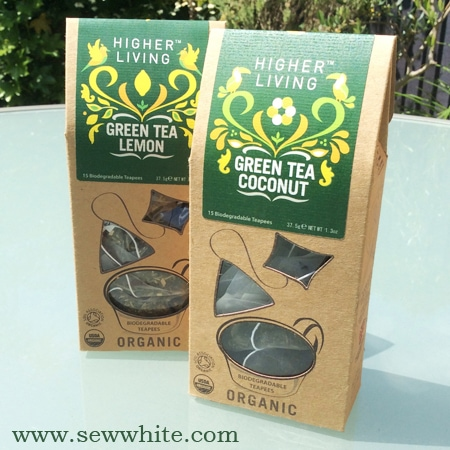 Sew White higher living tea review 4
