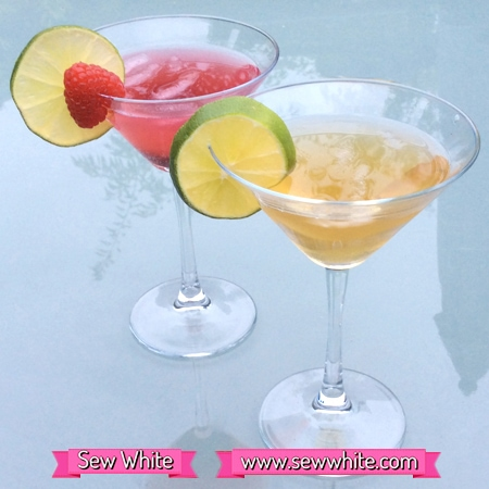 Sew white gin cocktails London dry gin 2