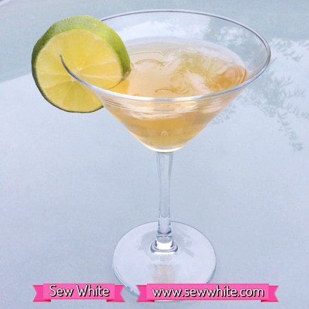 Sew white gin cocktails London dry gin 3