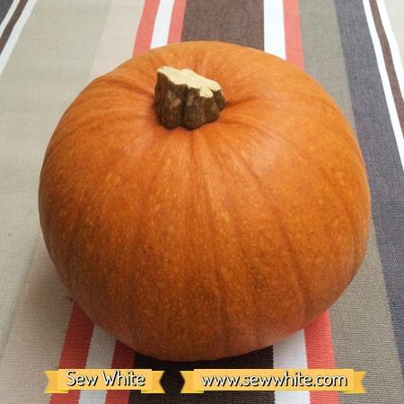 Sew White harvest autumn sausage tray bake 3