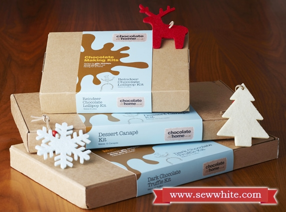 Sew White Christmas 2014 food and drink 17 chocolate at home