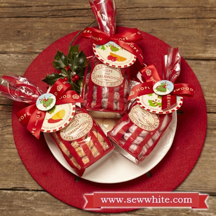 Sew White Christmas 2014 food and drink 2 Hope and Greenwood Sweets
