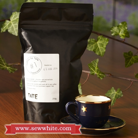 Sew White Christmas 2014 food and drink 3 Tate coffee