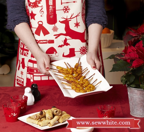 Sew White Christmas 2014 food and drink 4 party food Victoria eggs