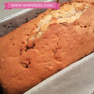 Freshly baked cake straight from the oven.