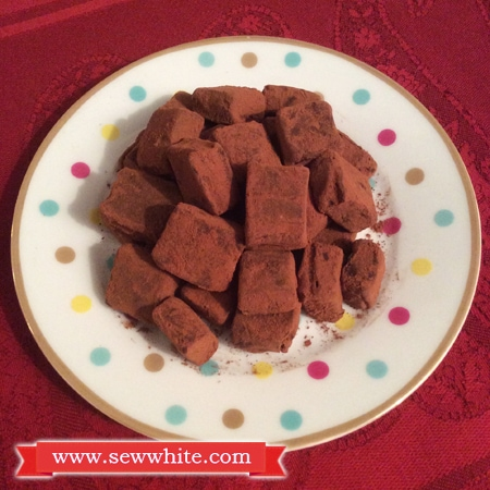 JL Cook spiced Christmas truffles 1