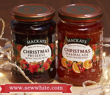 Mackays Christmas jam in the Christmas Baking Suppliesround up
