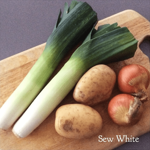 Sew White leek and potato soup recipe