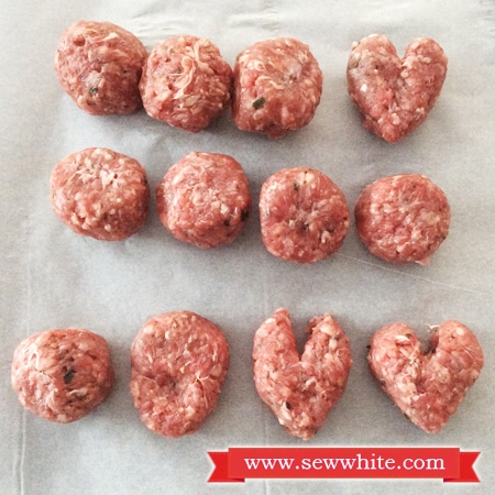 how to turn meatballs into hearts for valetnines day easy guide