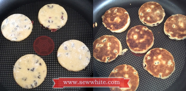 Sew White Easy Cranberry ginger welsh cakes recipe 4