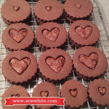 Sew White cardamom chocolate biscuits 2