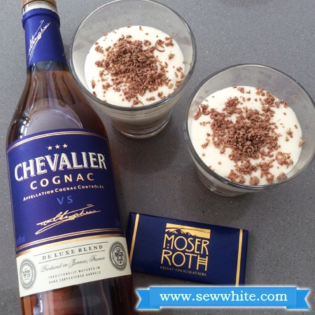 Sew White chocolate and Cognac tiramisu 4