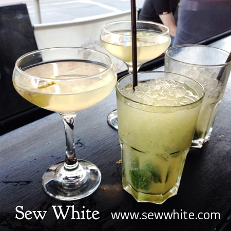 Sew White Suburban Cocktails Wimbledon Review 1