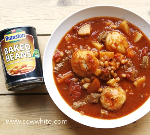 Sew White Spicy Bean Beef Stew 4