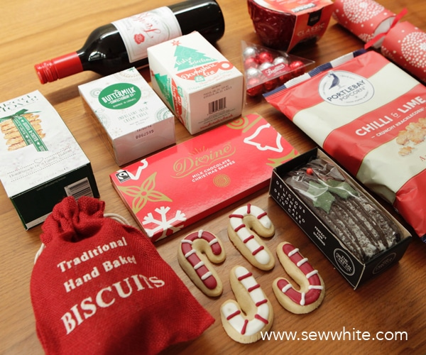 Sew White A night in with a John Lewis hamper 2