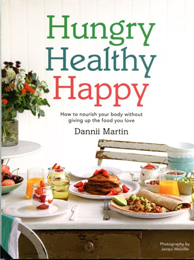 Hungry Healthy Happy review Dannii Martin