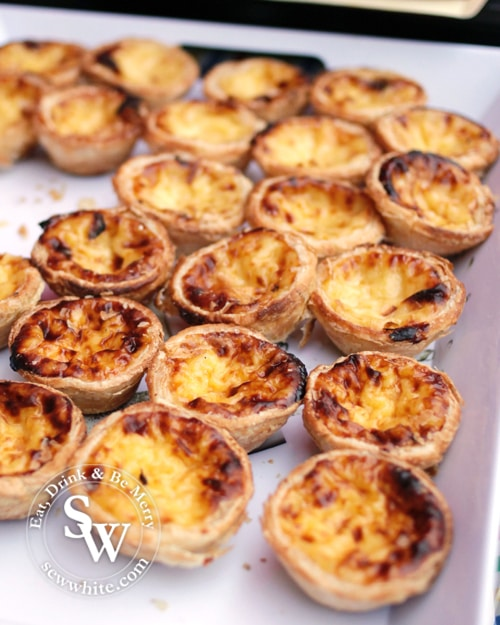 Portugese tarts from Luso brasil
