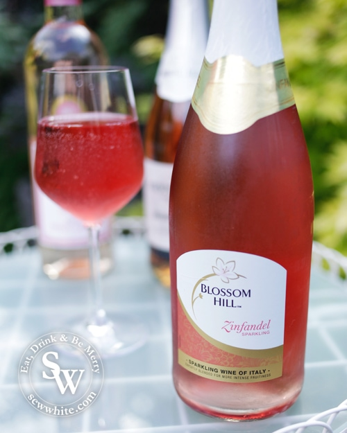 Blossom hill for the Rose wines for summer round up