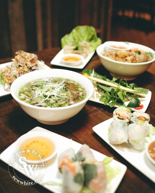 Pho Wimbledon Review trying all the flavours