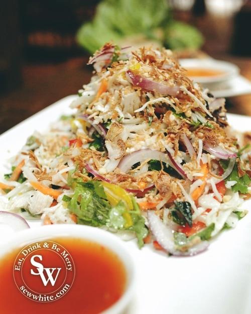 stir fry salad at Pho Wimbledon Review