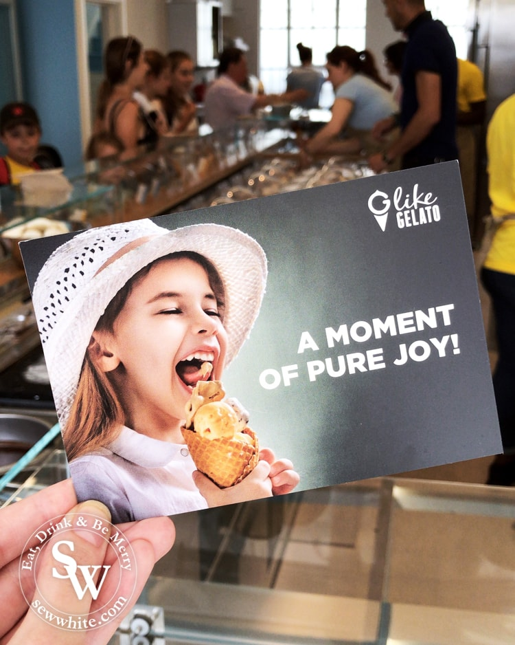 a moment of pure joy at G like Gelato on opening day in Wimbledon