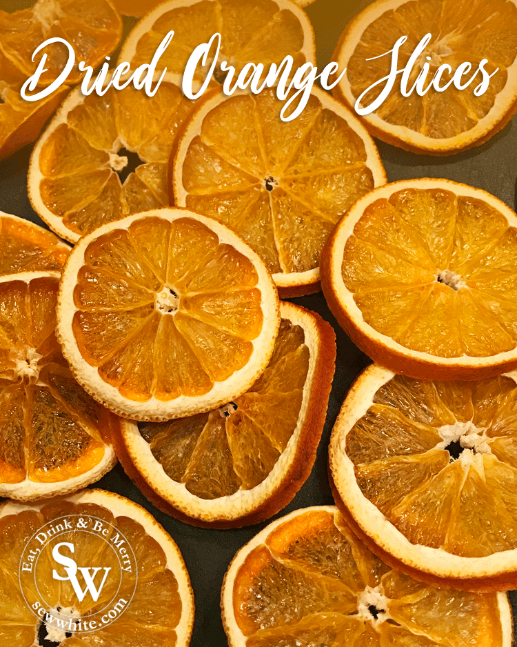 Dried Orange Slices Perfect For Christmas Bakes And For Decorations