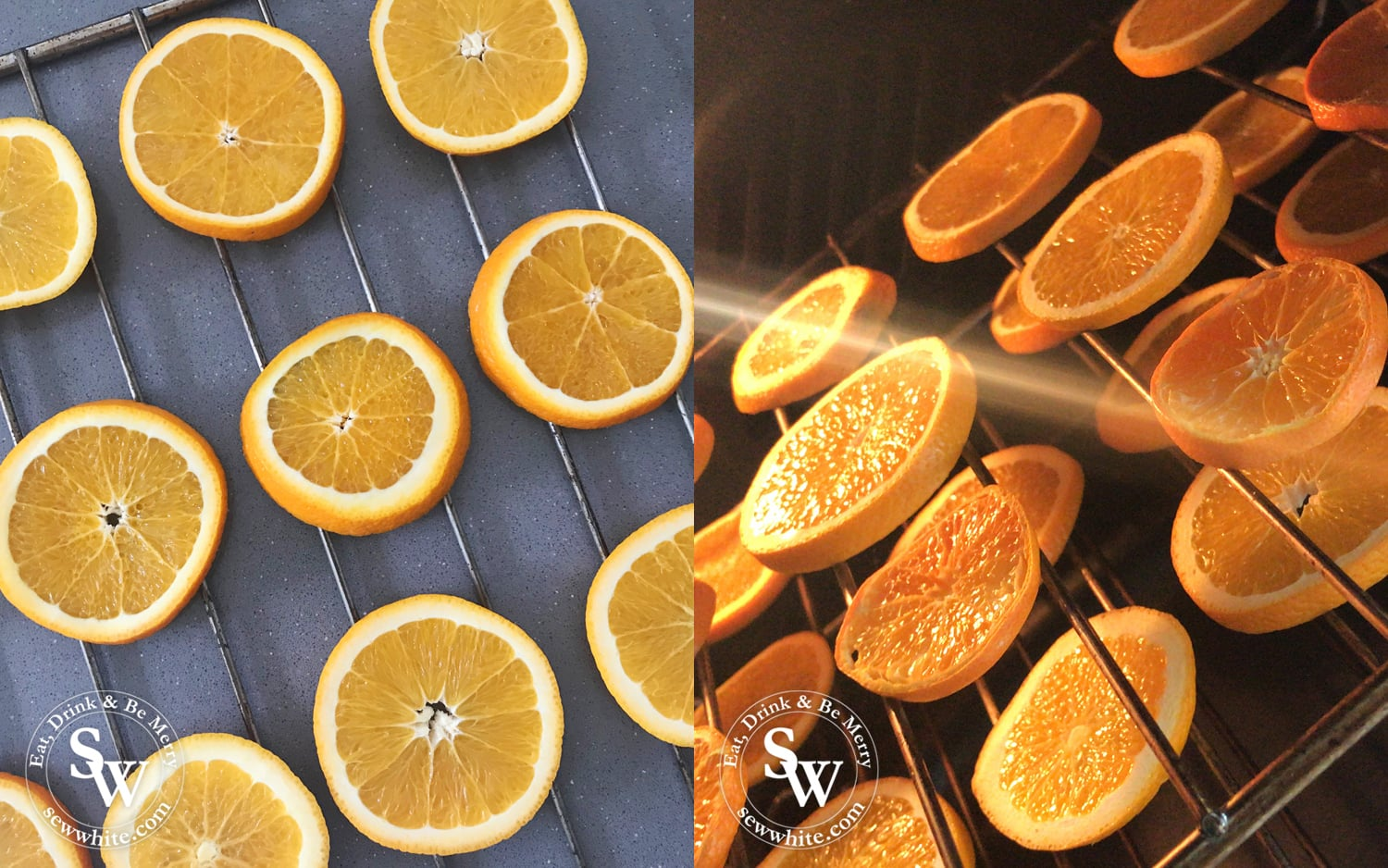 how to make dried orange slices perfect for christmas