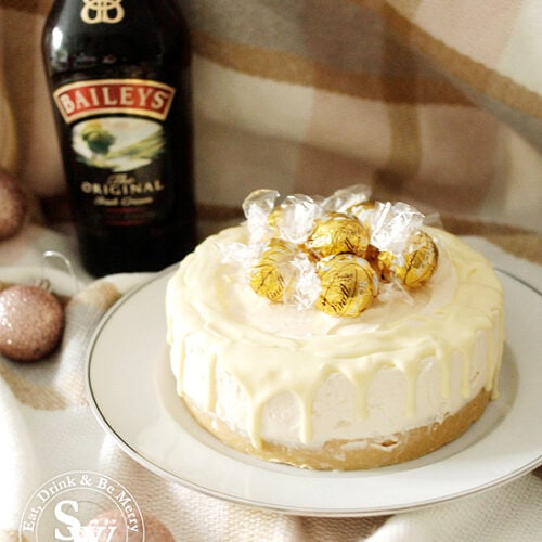 Baileys And White Chocolate Cheesecake No Bake