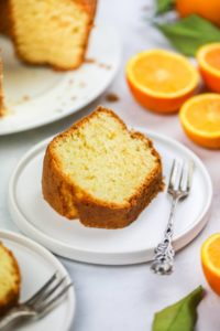 Orange Drizzle Cake The Perfect Spring Bake By Sisley White