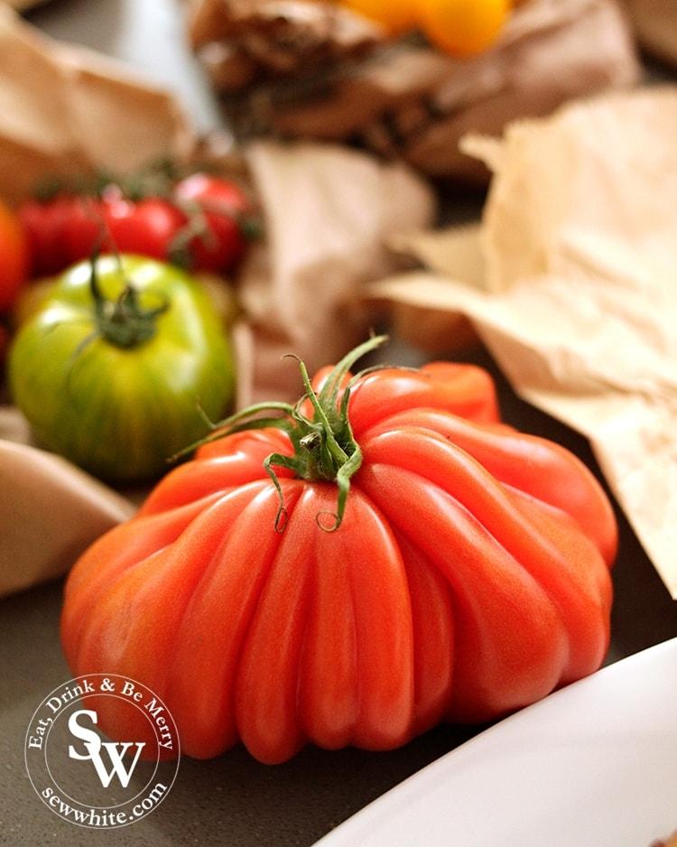Beautiful buffalo tomato