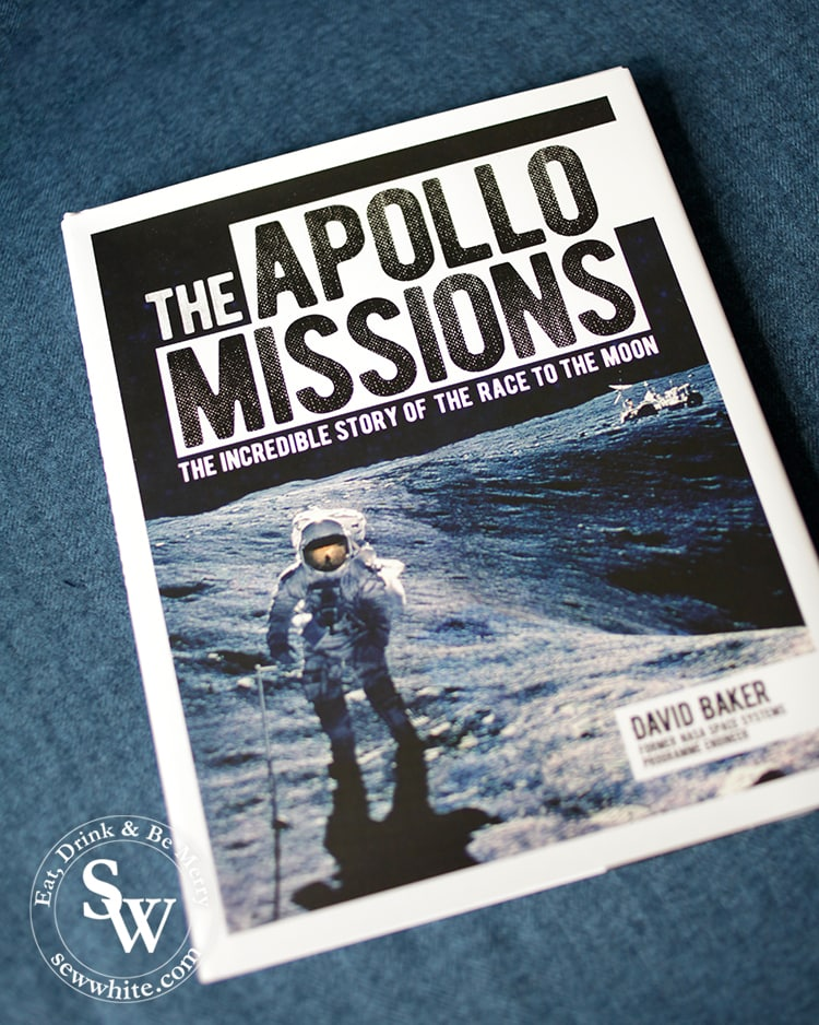 The Apollo Missions by David Baker in the top 5 Books for Christmas 2019