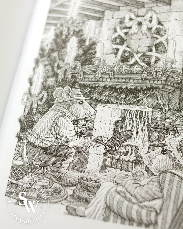 Beautiful hand drawn illustrations by Crumble Cottage