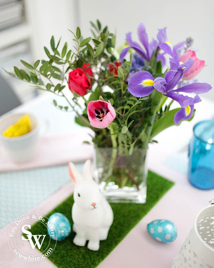 Easter Table Inspiration with pastel colours