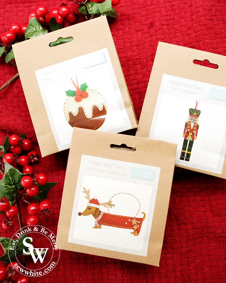 Elys Christmas make your own felt decorations in the top 5 Craft Gifts for Christmas