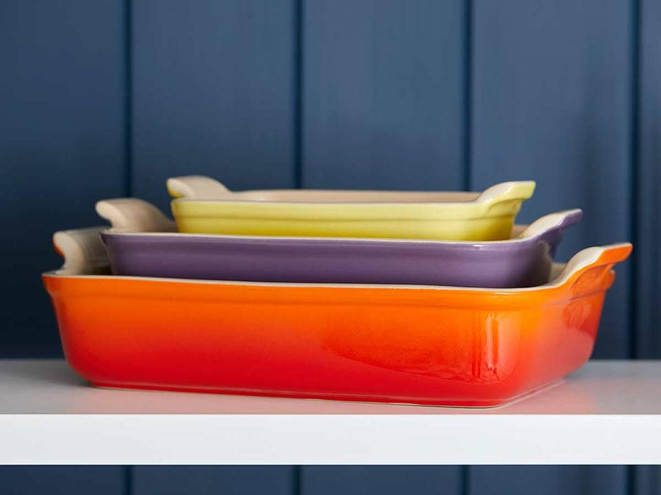 Le Creuset stoneware heritage rectangular oven dish in The Top 5 Lifestyle Gifts for Christmas