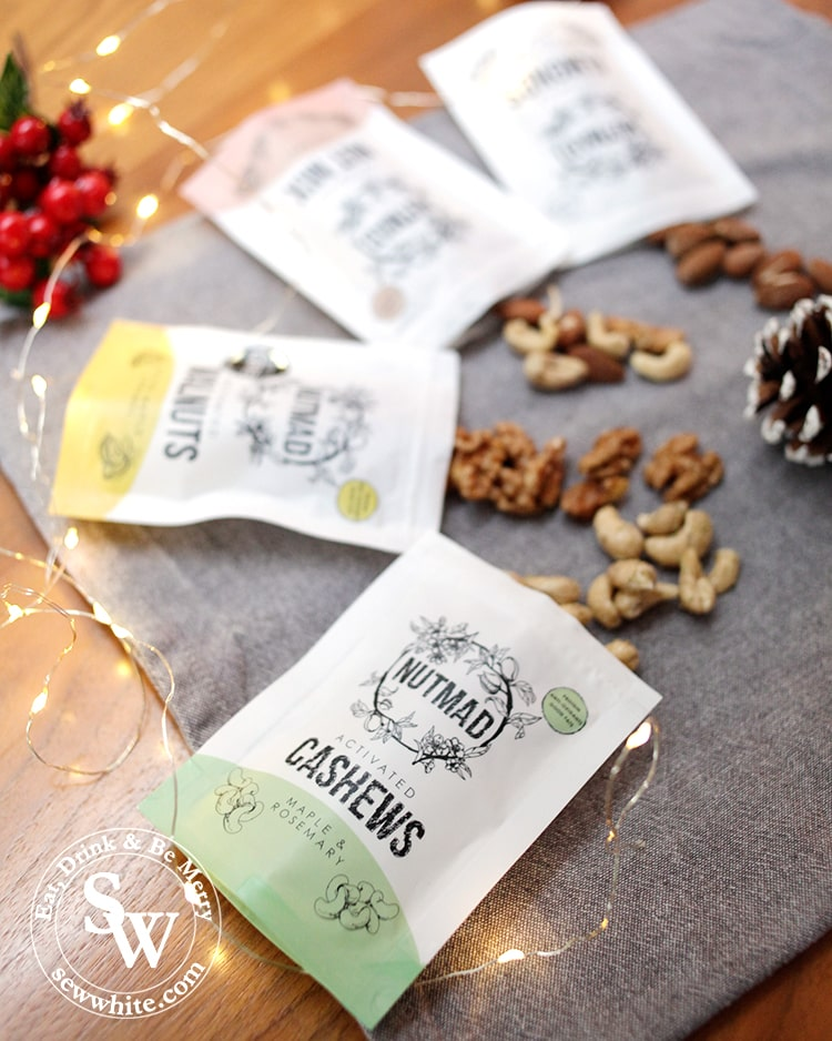 Nutmad nuts selection box for the Top 5 Food Gifts for Christmas 2019