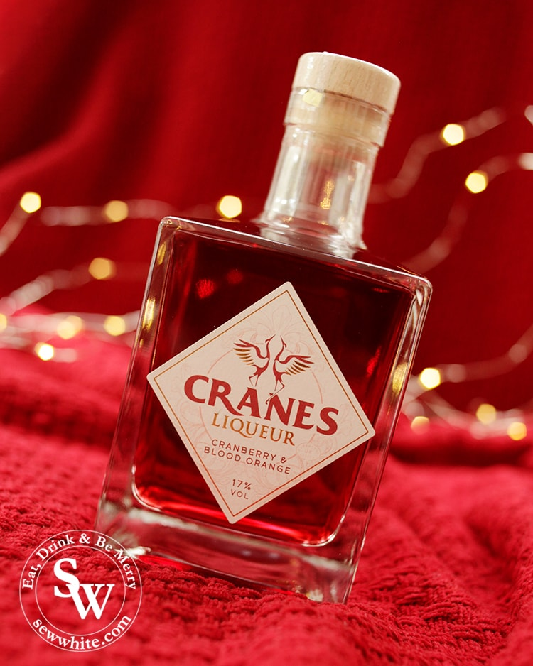 Cranes Liqueur cranberry and blood orange drink in the Top 5 Drinks for Christmas 2019
