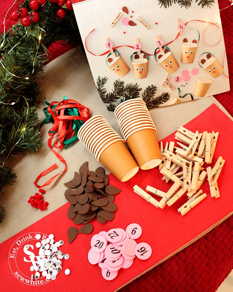 Getting creative with the hobbycraft make your own advent calendar