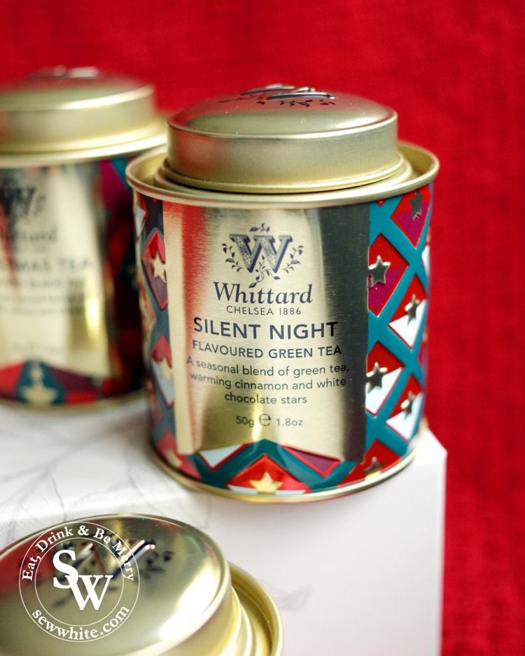 Whittard christmas tea silent night green tea
