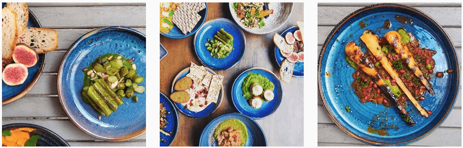 Tendril vegetarian and vegan restaurant serving up breakfast and lunch in Putney South West London