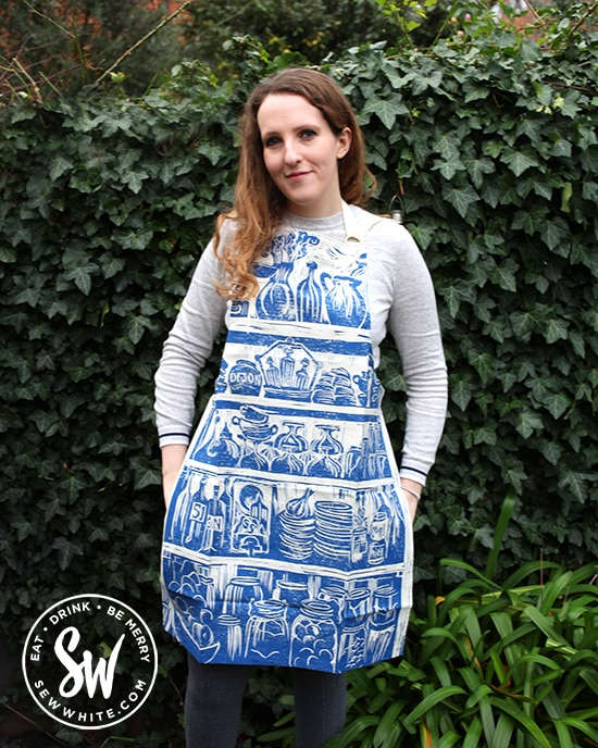 Valentine's Day Gift Guide 2020 Katie Guy linoprint apron