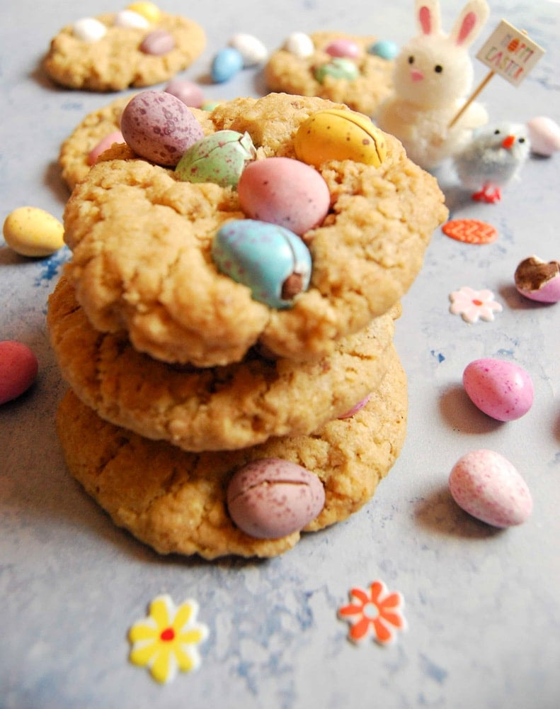 Mini egg cookies from Something Sweet Something Savour