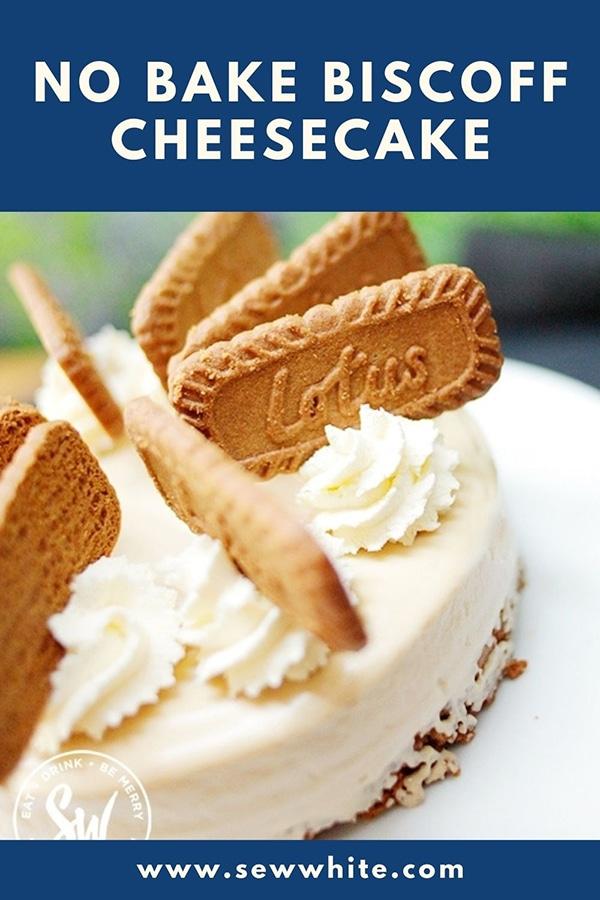 no bake biscoff cheesecake
