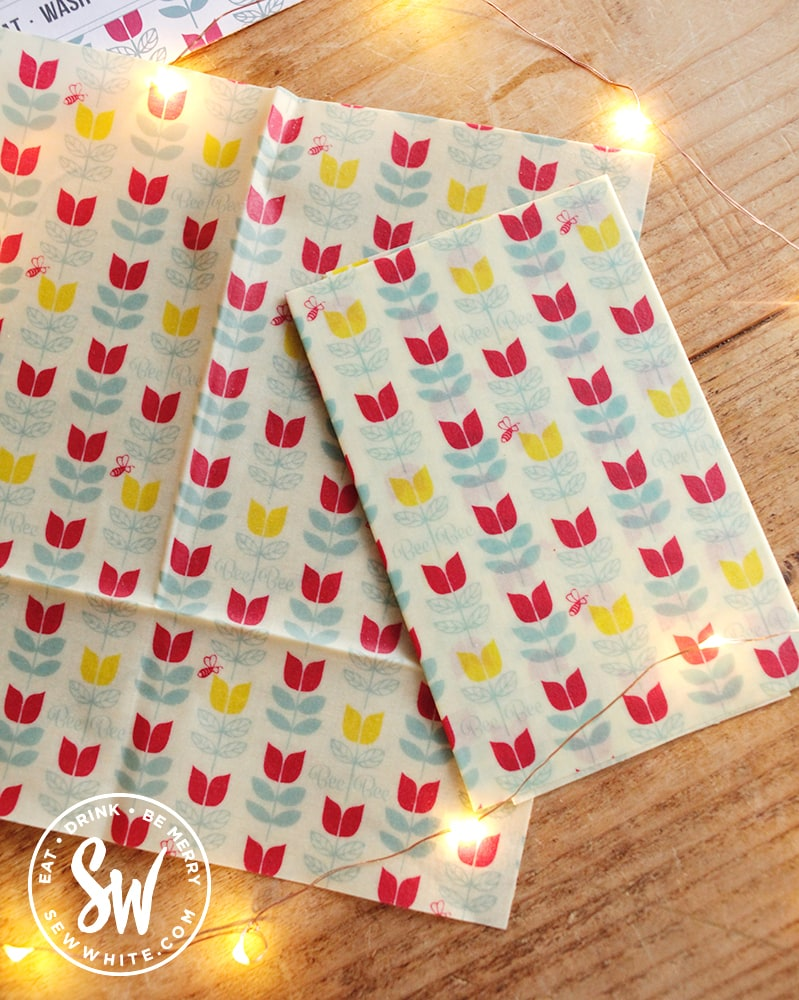 Beeswax wraps for kitchen from BeeBee