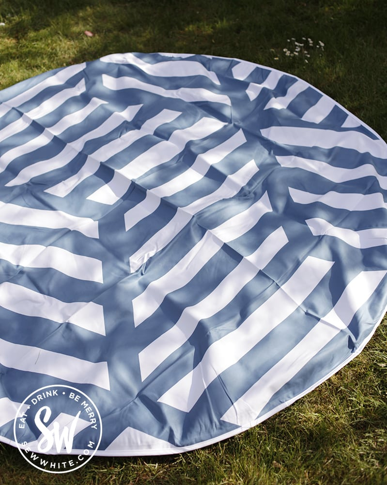 keep the faith london picnic blanket on the best picnic accessories round up